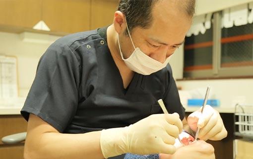 矯正歯科治療を専門に行う歯科医が担当